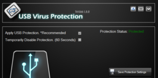 USB Virus Protection