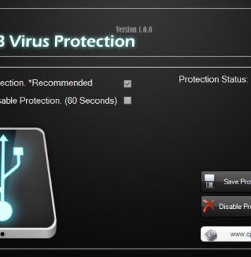 USB Virus Protection
