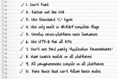 cross platform code