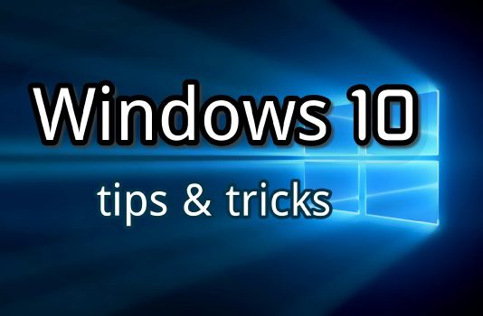 windows 10 tips and tricks