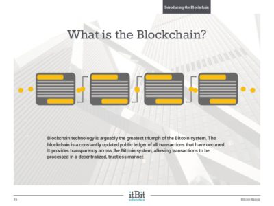 cryptocurrency blockchain technology